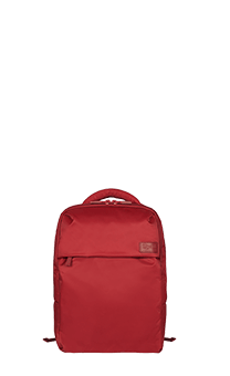 "Lipault Plume Business Sac à dos M 15"" Rouge"