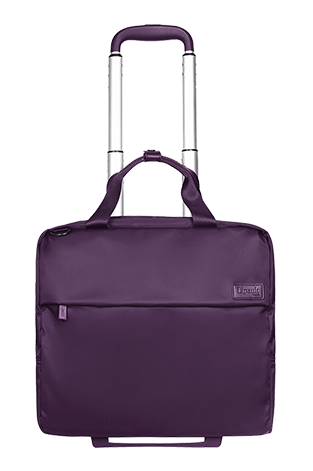 Lipault Plume Business Business Case 2 Wheels 15inch Purple