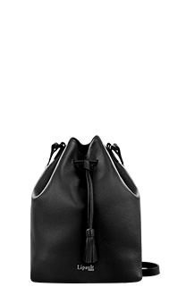 Lipault Plume Elegance Bucket Bag Black