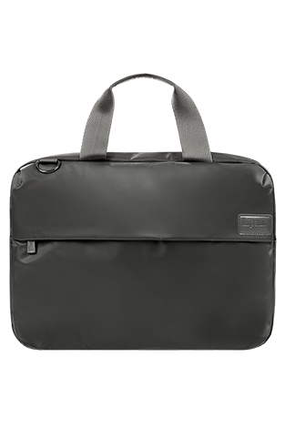 Lipault City Plume Sac Reporter Gris Anthracite