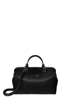 Lipault Lady Plume Bowling Bag M Black