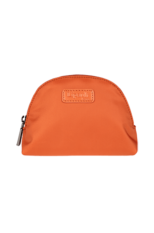 Lipault Plume Accessoires Cosmetic Pouch M  Bright Orange