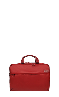 Lipault Plume Business Laptop Bag 15.6inch Ruby fl