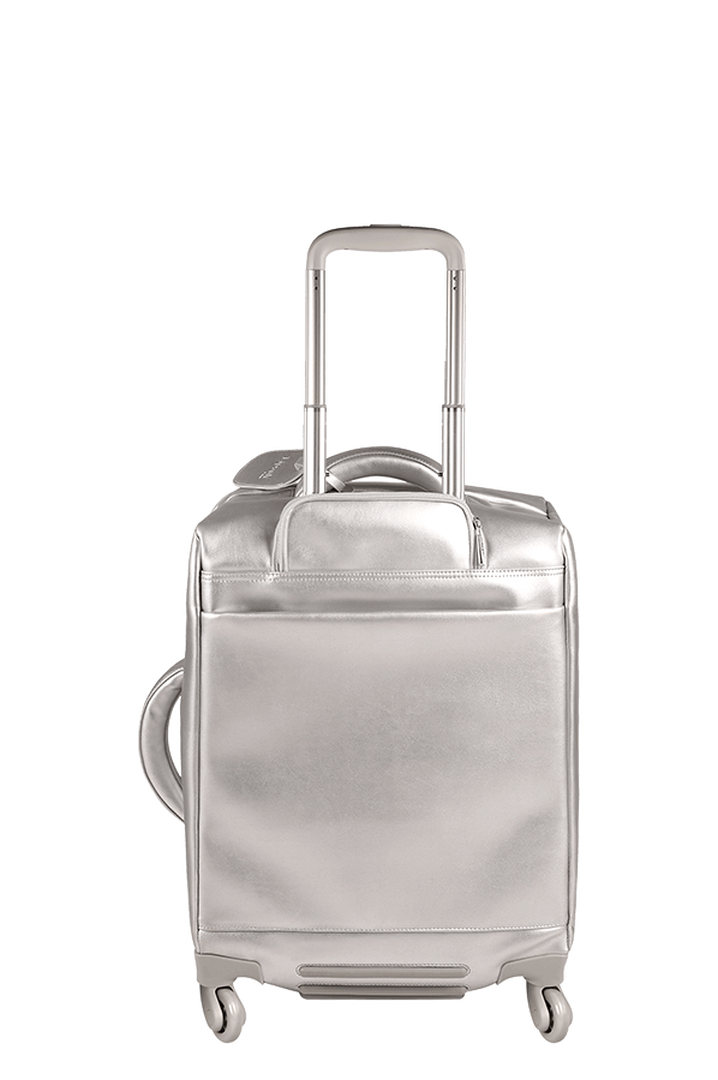 Miss Plume Valise 4 roues 55cm Silver | 2