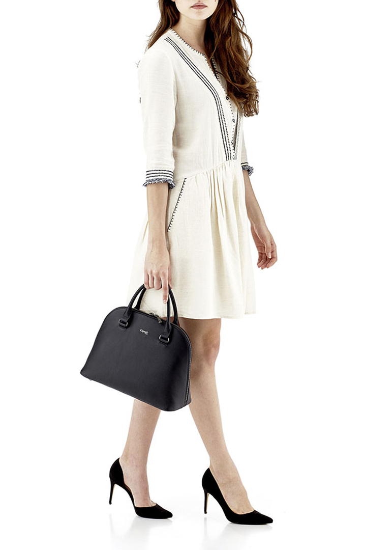 Plume Elegance Handbag M Black | 3