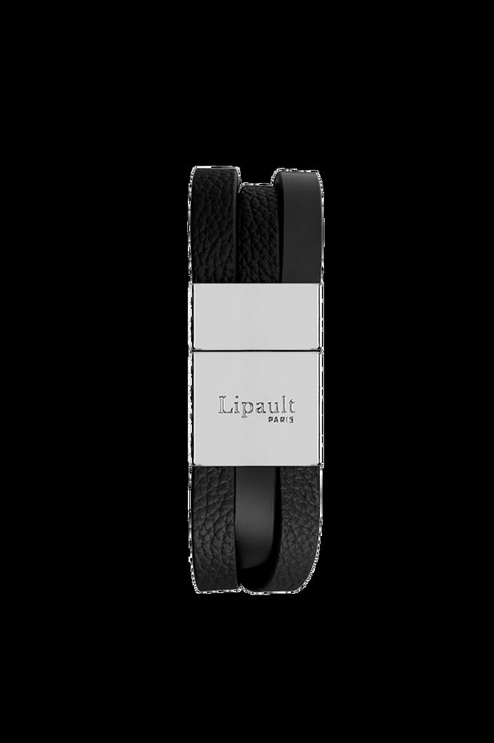 Plume Elegance Bracelet Noir | 2