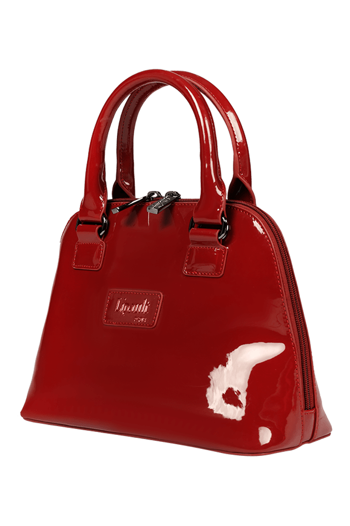 Plume Vinyle Handbag S Ruby | 5