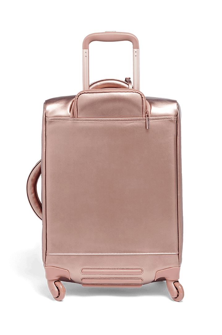Miss Plume Valise 4 roues 55cm Pink Gold   2
