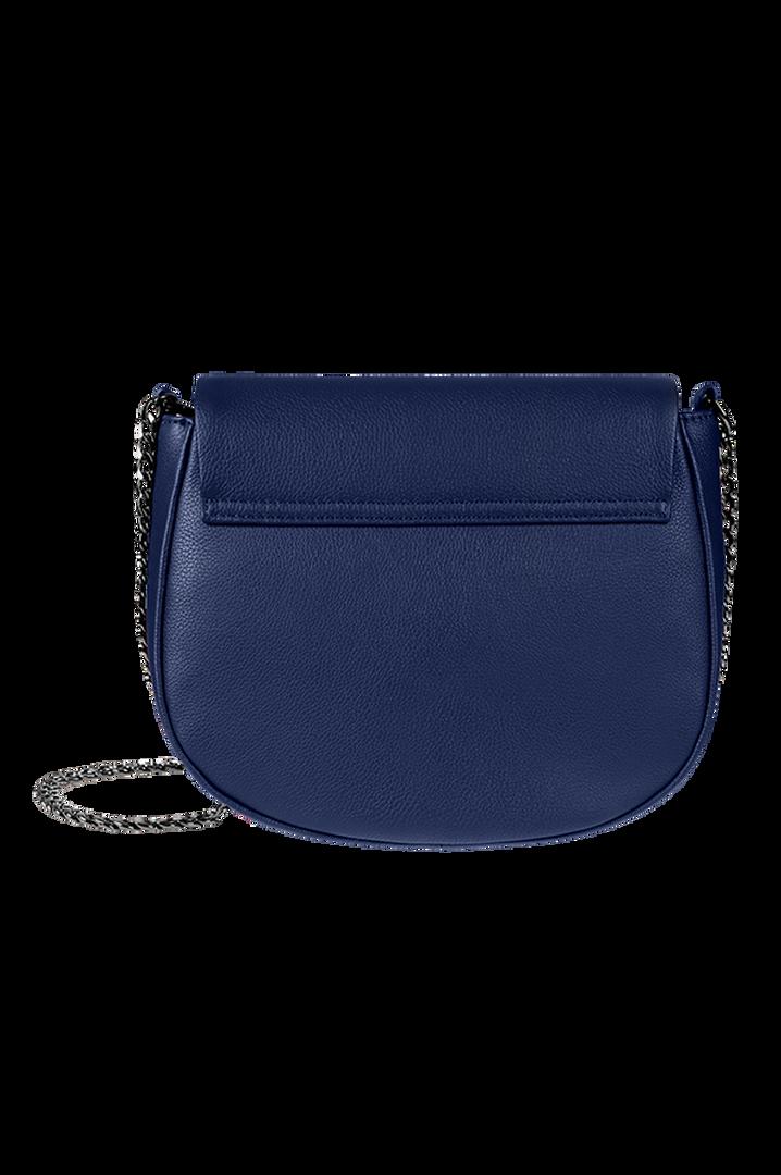 Plume Elegance Sac porté croisé Bleu Marine   4