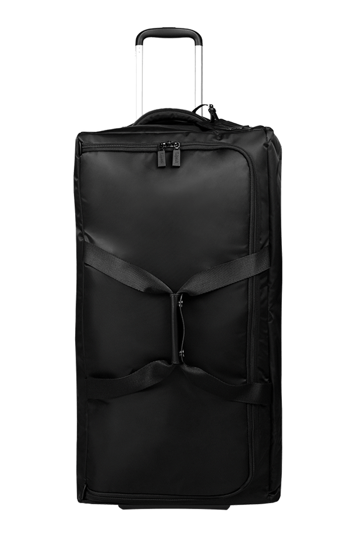 Pliable Duffle with wheels 78cm Black | 1