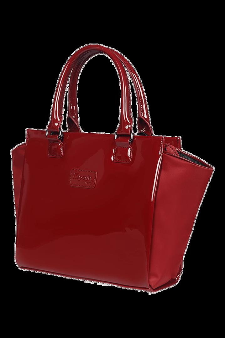 Plume Vinyle Satchel Bag S Ruby | 6
