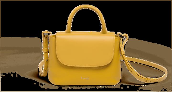 Plume Elegance Sac à main  Moutarde | 1