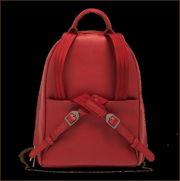 Plume Elegance Sac à dos Rouge | 3
