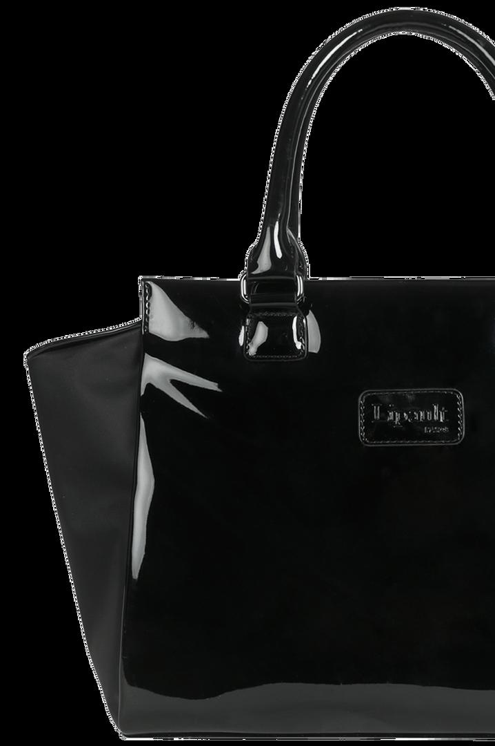 Plume Vinyle Satchel Bag S Black | 2