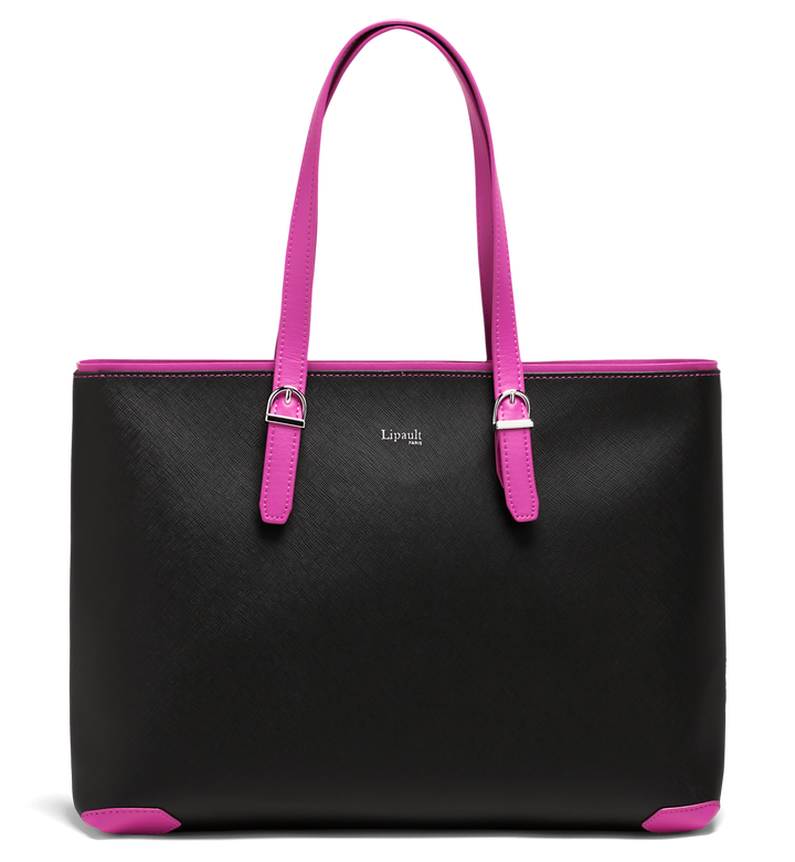 Variation Sac cabas  Black/Sweet Fuchsia | 1