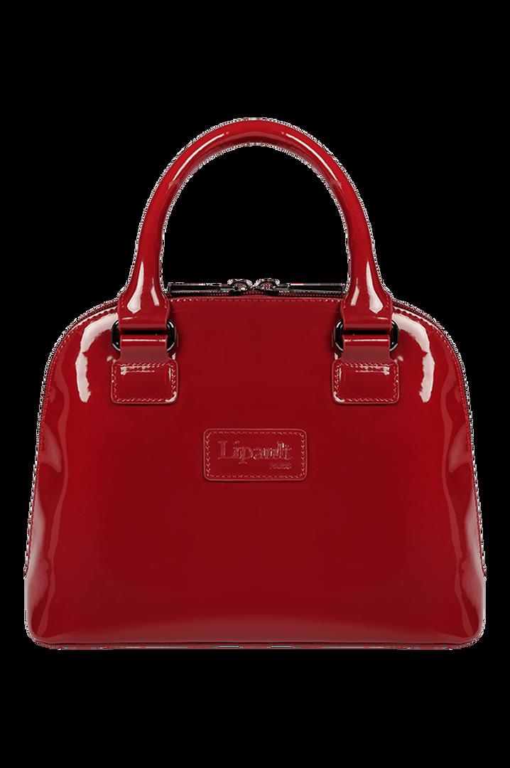 Plume Vinyle Handbag S Ruby | 1