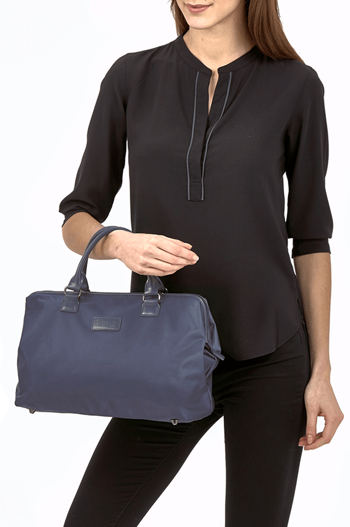 Lady Plume Shoulder bag M Navy | 3