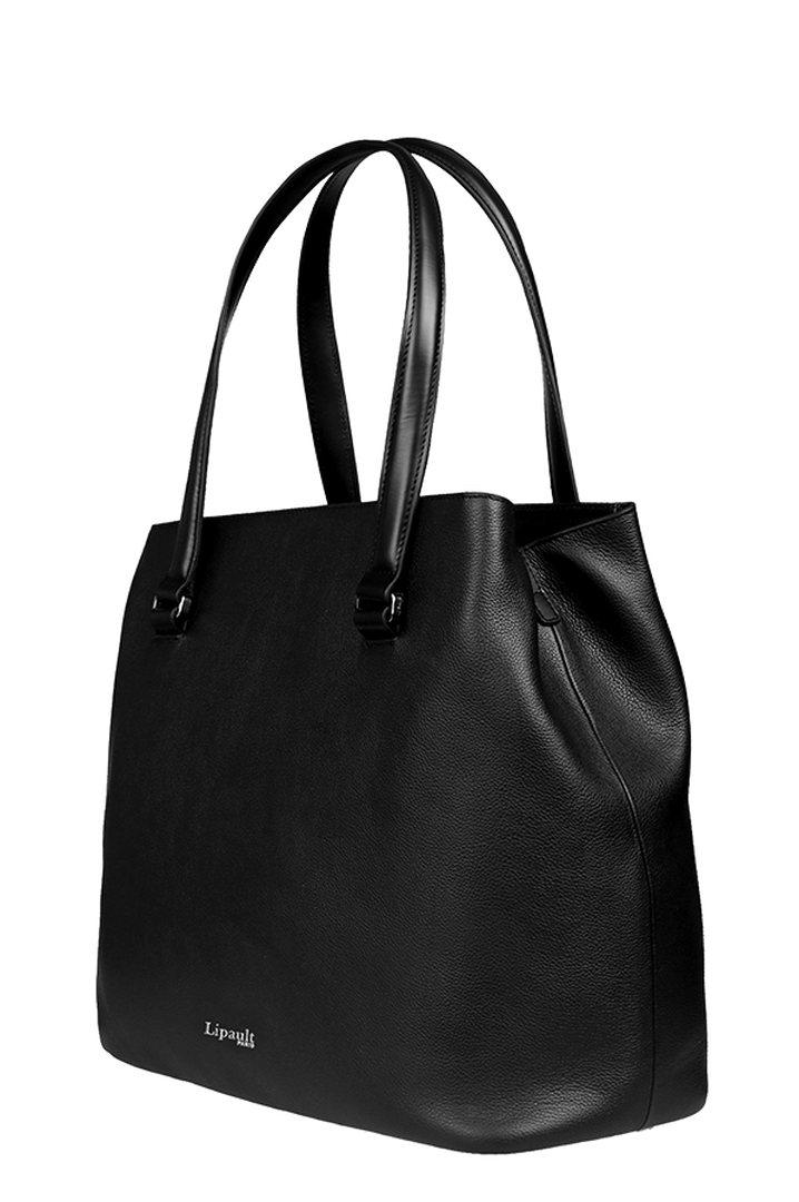 Plume Elegance Sac shopping L Noir | 3