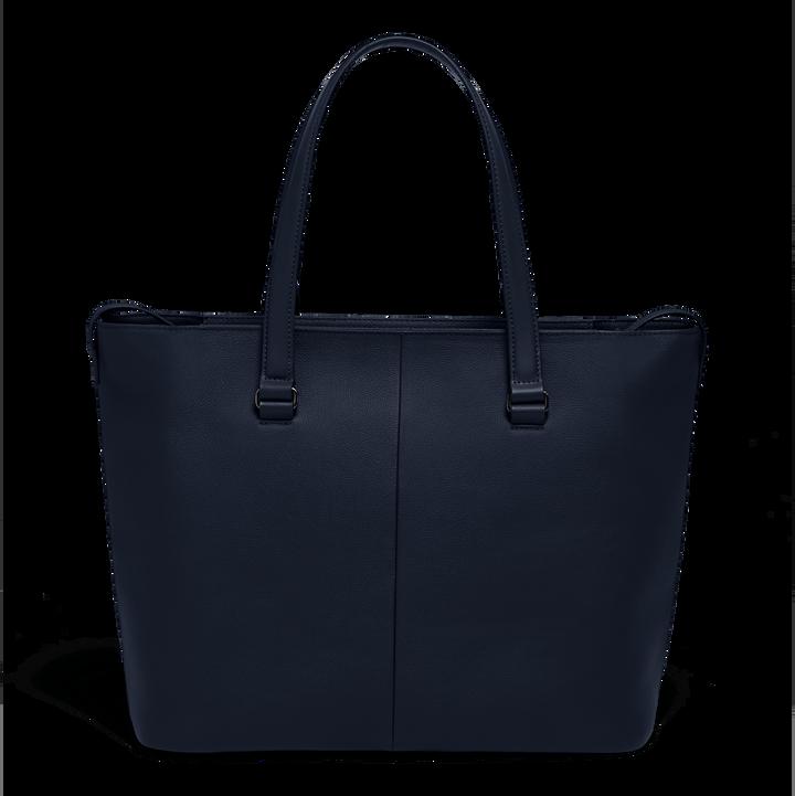 Plume Elegance Sac shopping L Bleu Marine | 2