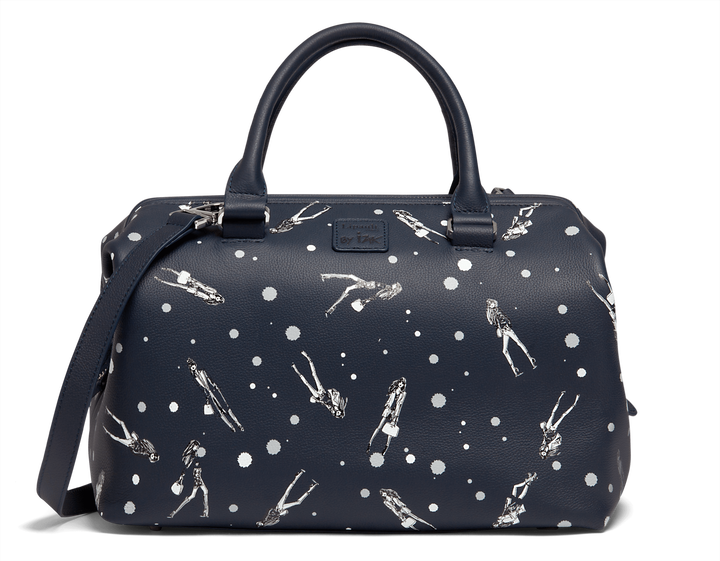 Izak Zenou Collab Sac bowling  Pose/Night Blue | 1