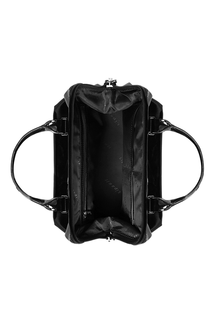 Plume Vinyle Shoulder bag S Black | 4