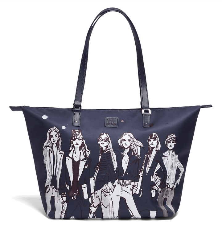Izak Zenou Collab Shopping bag M Pose/Night Blue   1
