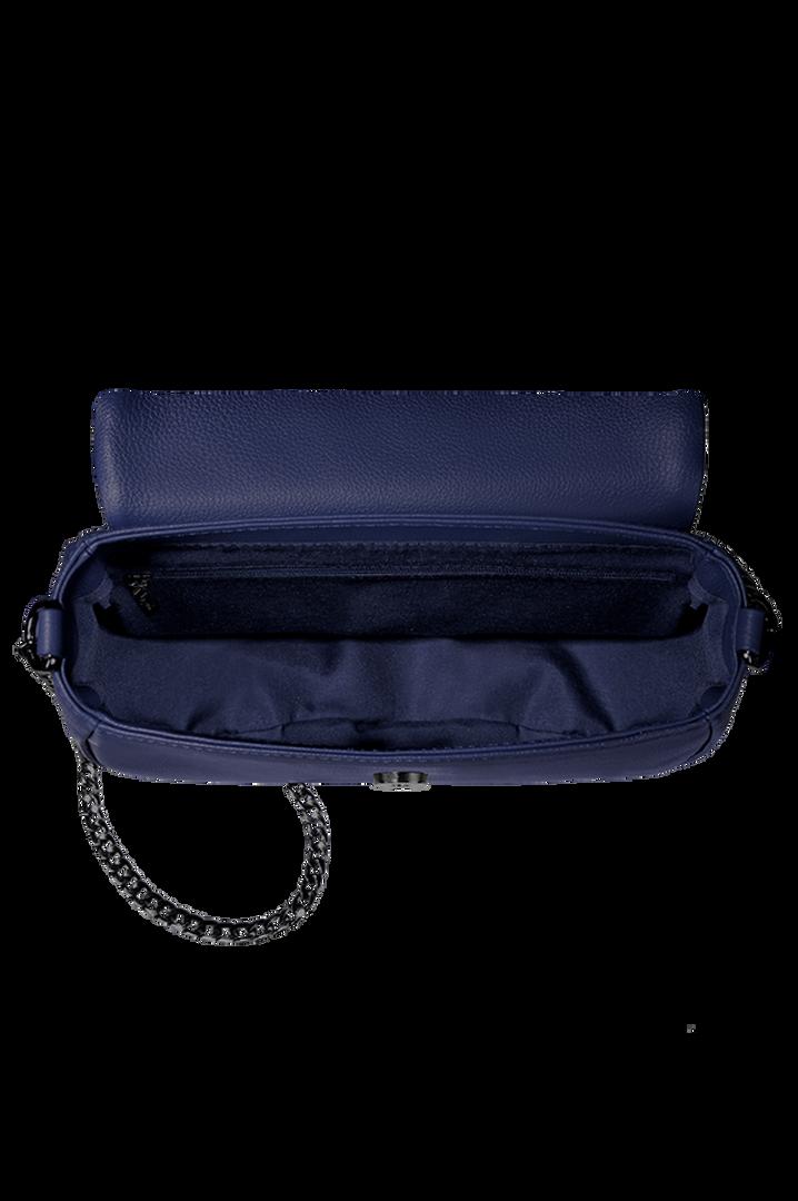 Plume Elegance Sac porté croisé Bleu Marine   2