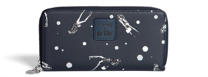 Izak Zenou Collab Wallet  Pose/Night Blue | 1