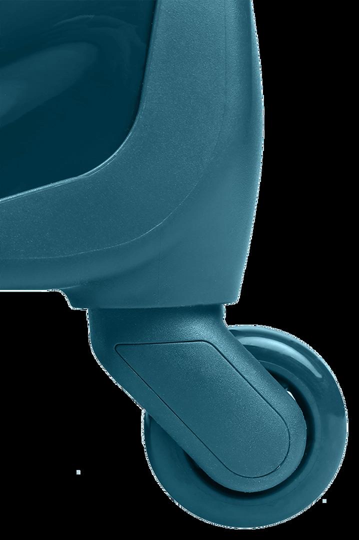 Plume Vinyle Spinner (4 wheels) 55cm Duck Blue | 4