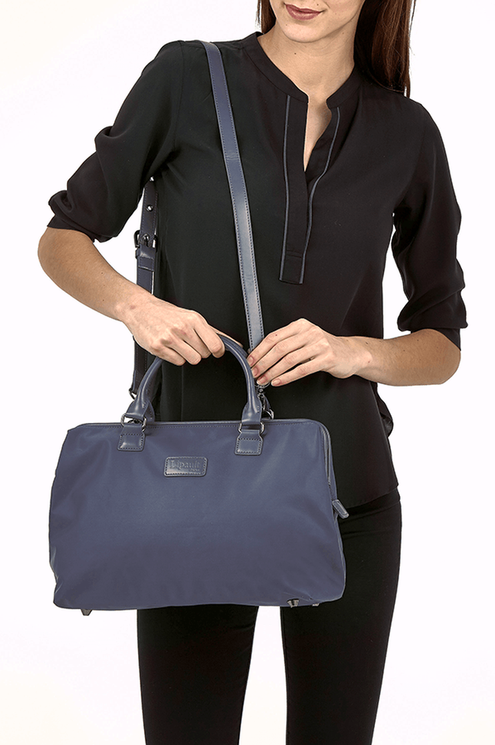 Lady Plume Shoulder bag M Navy | 4