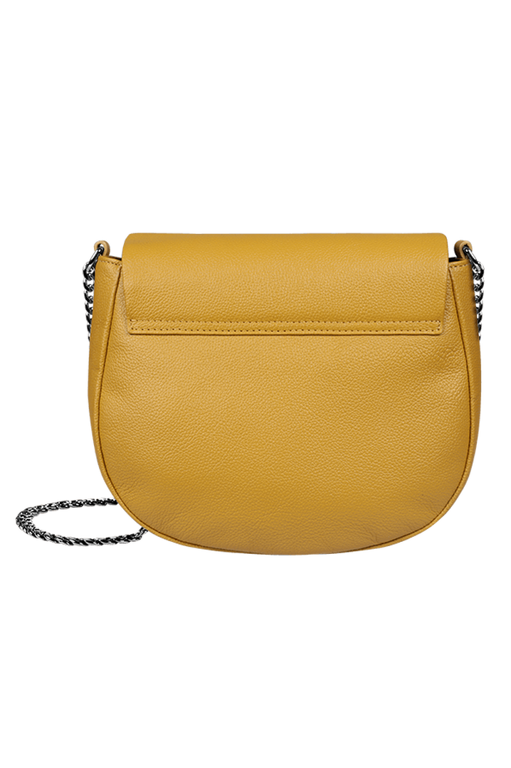 Plume Elegance Saddle Bag Mustard | 3