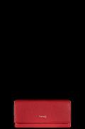 Plume Elegance Portefeuille Rouge