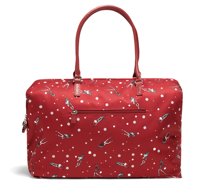 Izak Zenou Collab Sac week-end M Pose/Garnet Red | 2