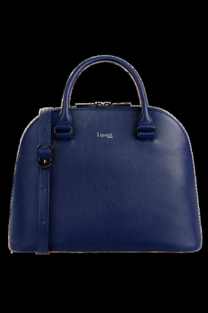 Plume Elegance Handbag M Navy   5