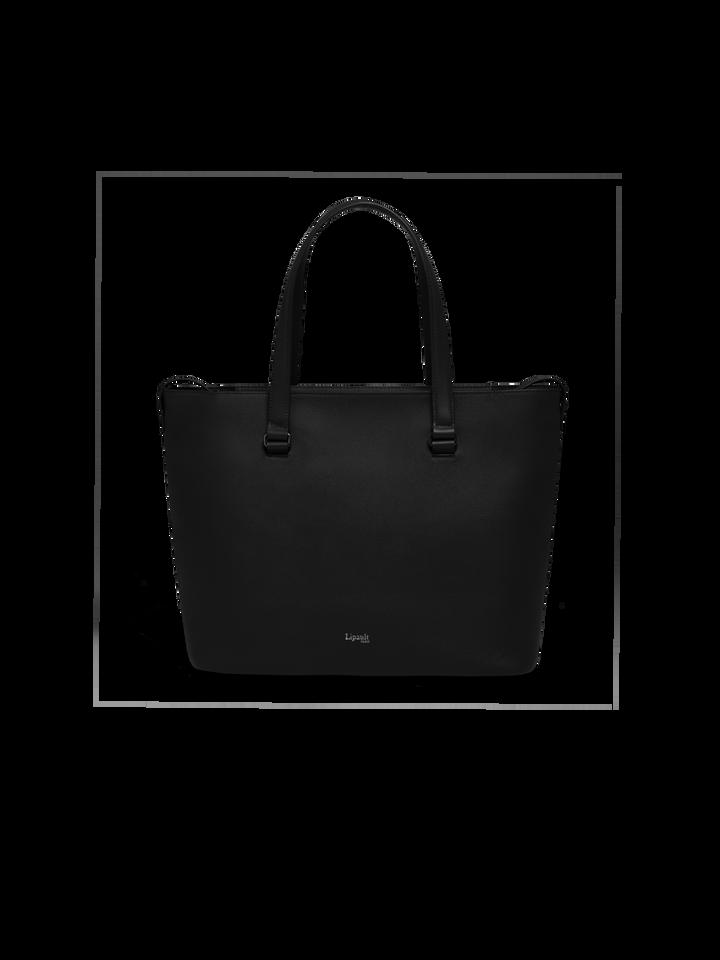 Plume Elegance Sac shopping L Noir | 1