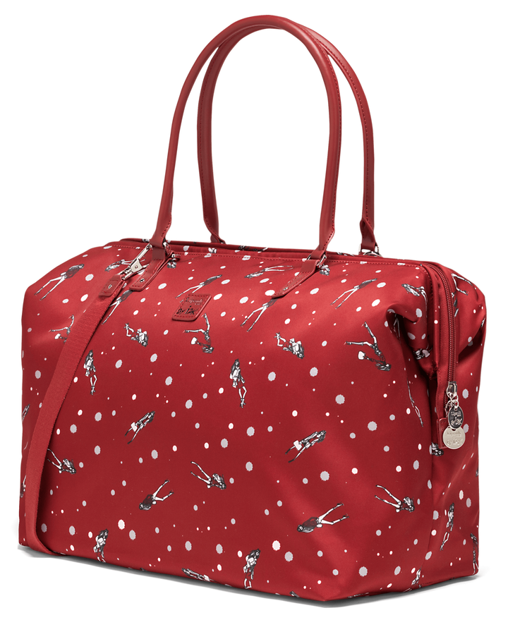 Izak Zenou Collab Sac week-end M Pose/Garnet Red | 3