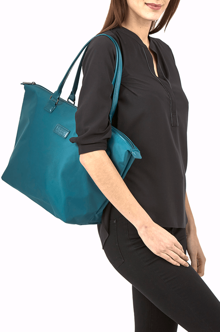 Lady Plume Shopping bag M Duck Blue | 3