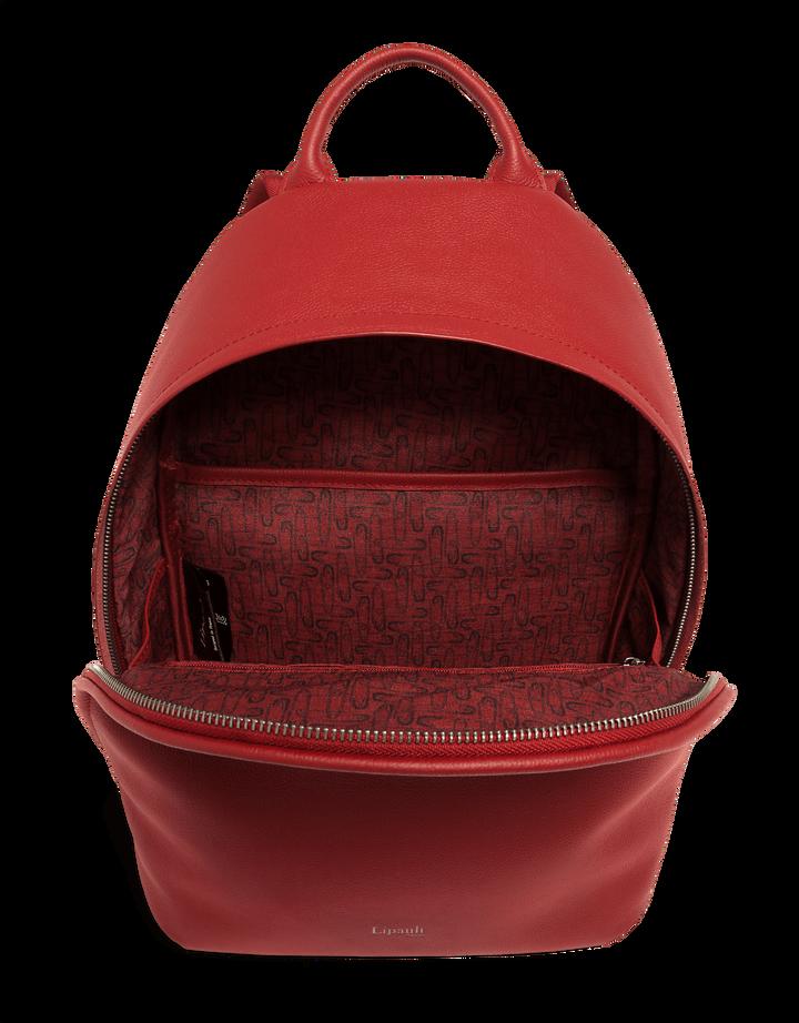 Plume Elegance Sac à dos Rouge | 2