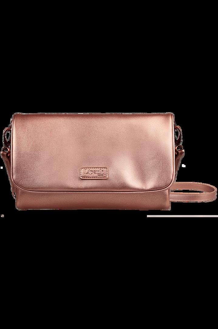 Miss Plume Handbag Pink Gold | 1