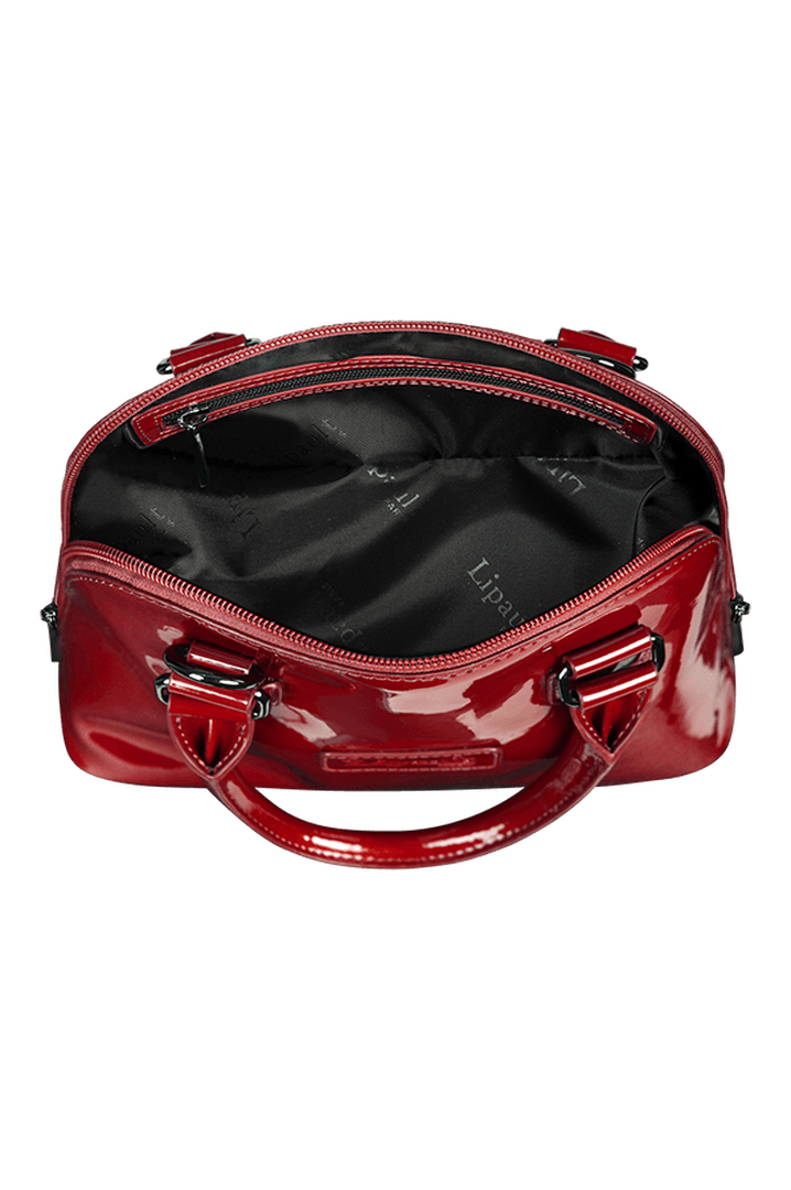 Plume Vinyle Handbag S Ruby | 2