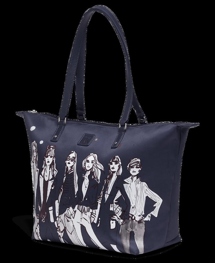 Izak Zenou Collab Shopping bag M Pose/Night Blue   2