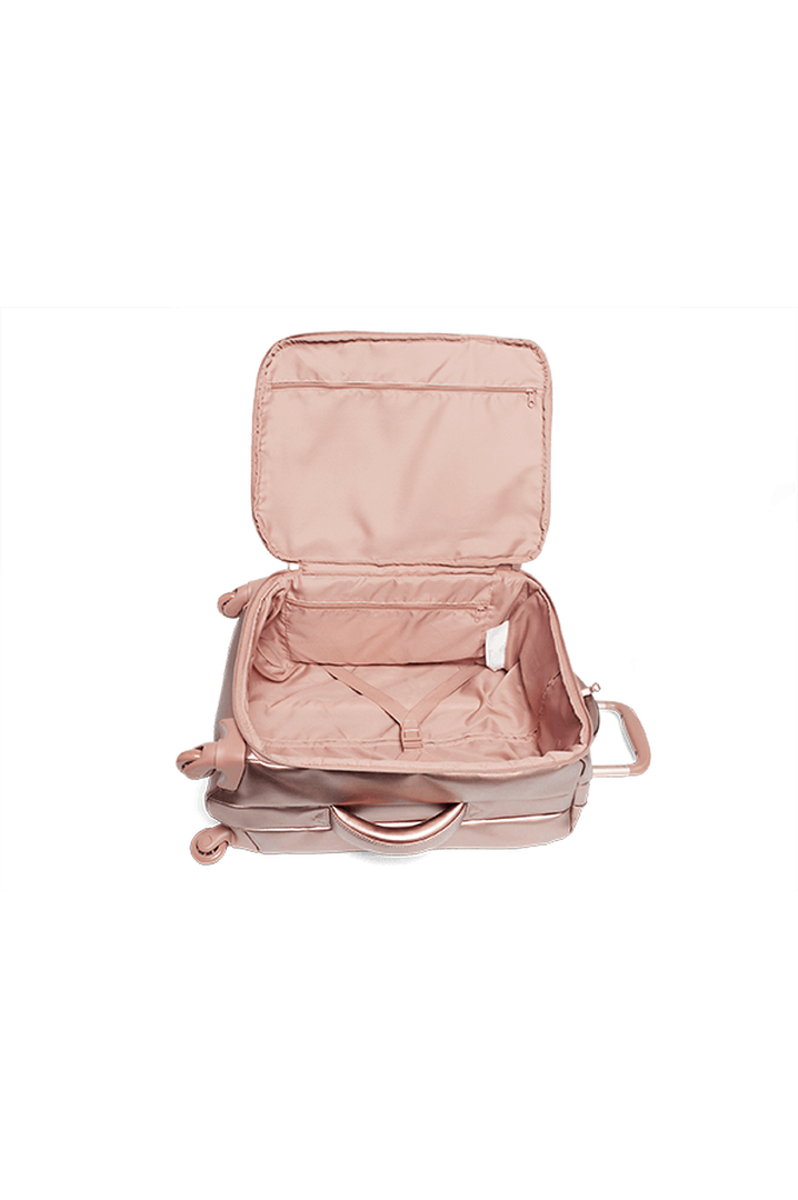 Miss Plume Valise 4 roues 55cm Pink Gold   4