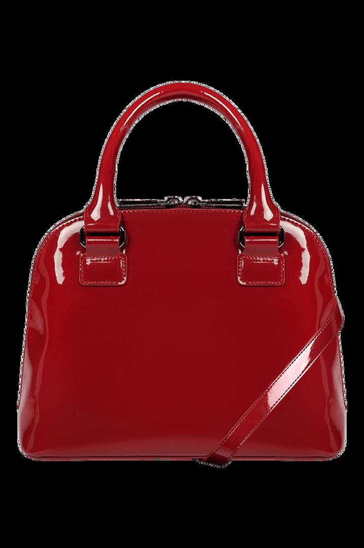 Plume Vinyle Handbag S Ruby | 3