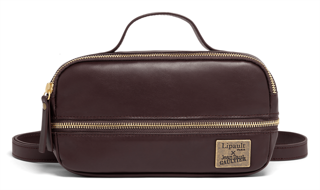 J.P. Gaultier Collab Slow Belt Bag Burgundy