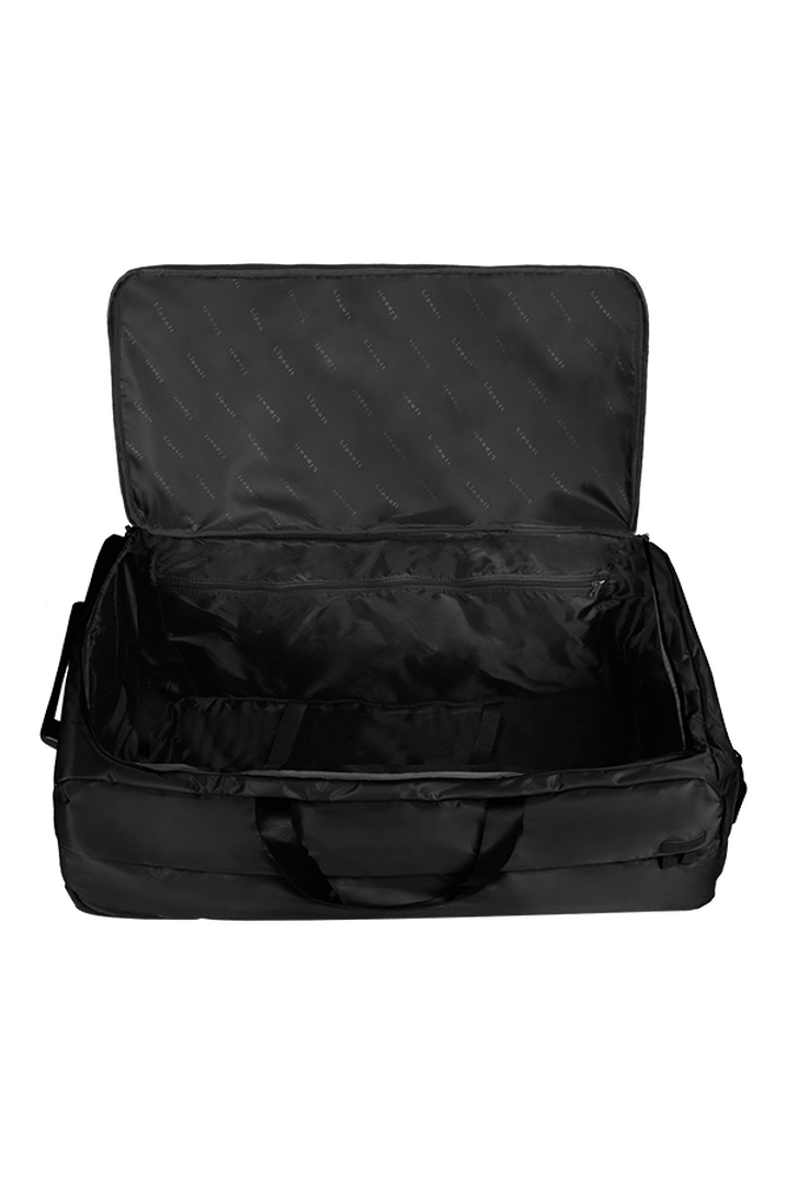 Pliable Duffle with wheels 78cm Black | 2