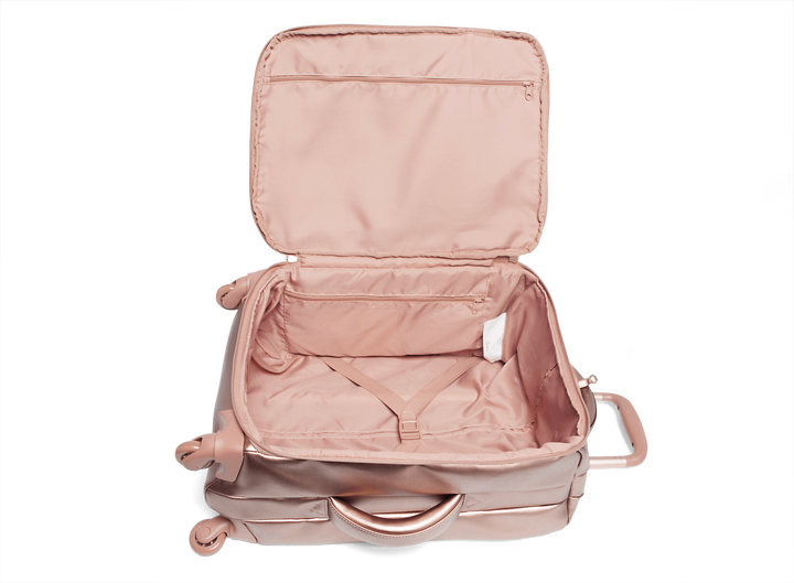 Miss Plume Valise 4 roues 55cm Pink Gold | 4