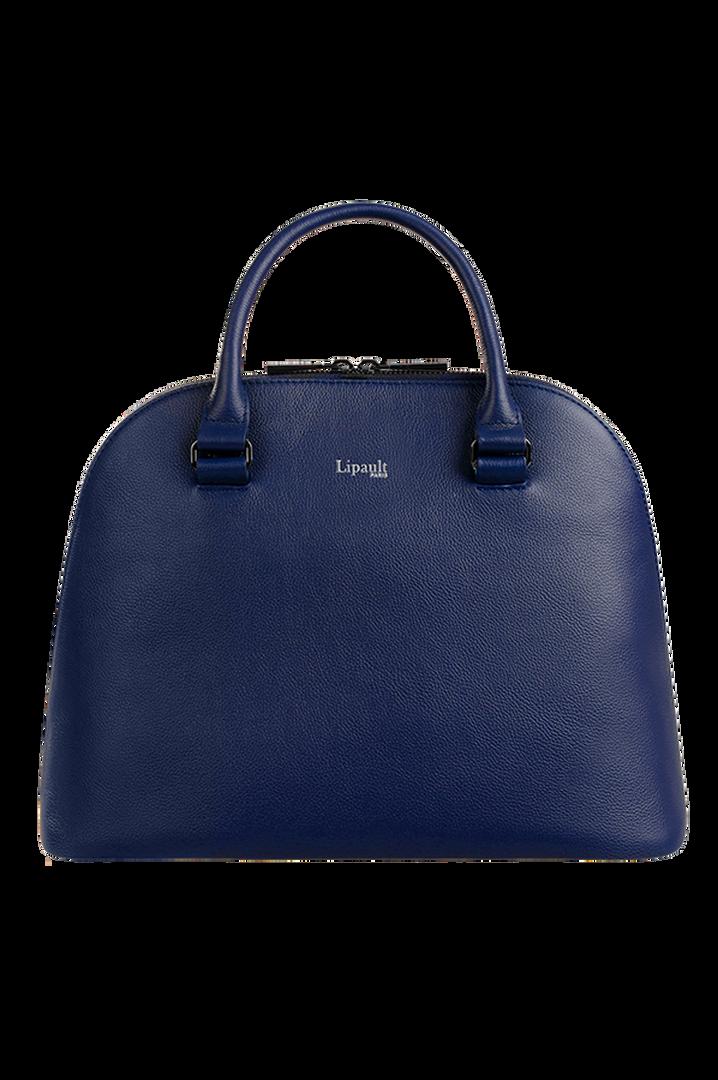 Plume Elegance Handbag M Navy | 1