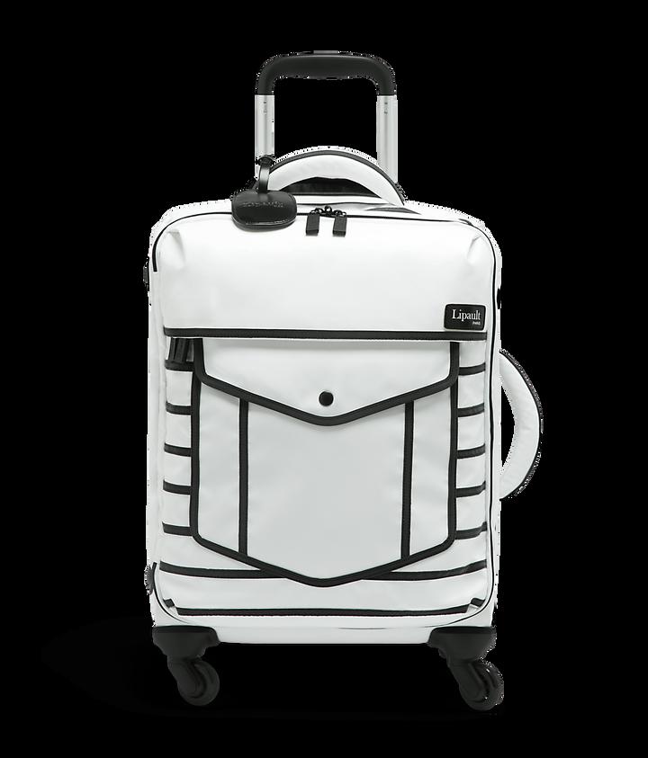 Nite Box Valise 4 roues 55cm White Suit | 1