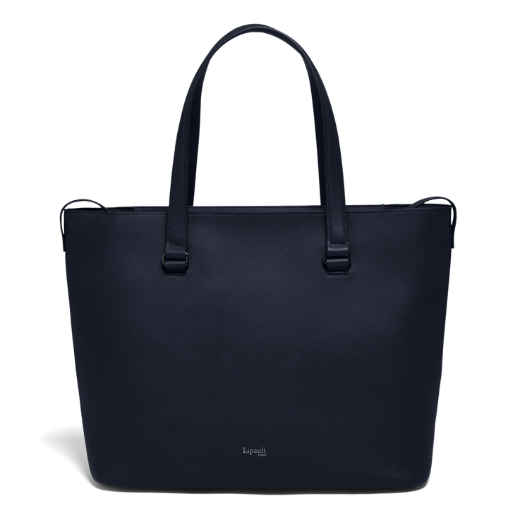 Plume Elegance Sac cabas L Bleu Marine | 1