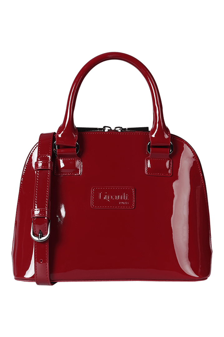 Plume Vinyle Handbag S Ruby | 4